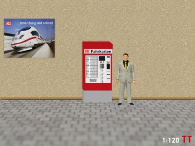 1/120 Track TT DB Ticket machine