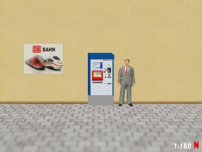 1:160 Spur N SBB Fahrkartenautomat