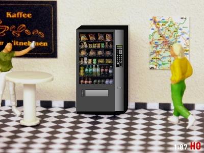 1:87 Spur H0 Snack Automat
