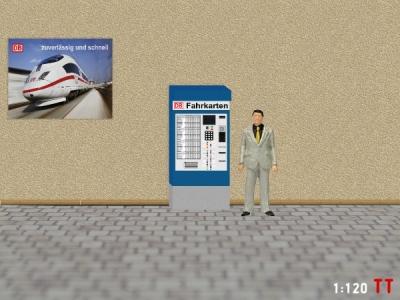 1:120 Spur TT DB Fahrkartenautomaten