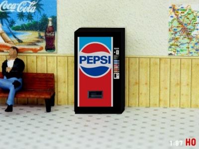 1:87 Spur H0 Pepsi Cola Getränkeautomat