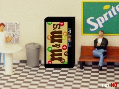 1:87 Spur H0 M&M Snack Automat