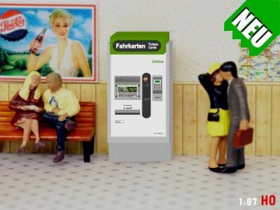 1:87 Spur H0 Üstra GVH Hannover Fahrkartenautomat