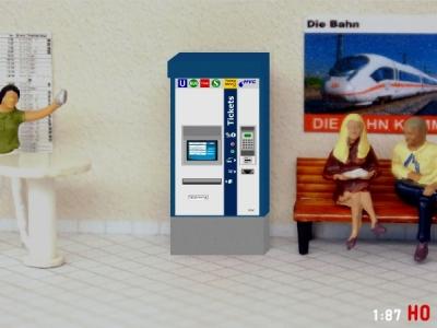 1:87 Spur H0 MVG München Fahrkartenautomat