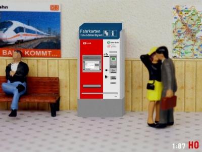 1:87 Spur H0 S-Bahn Berlin Fahrkartenautomat