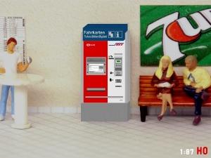 1:87 Spur H0 HVV Hamburg Fahrkartenautomat