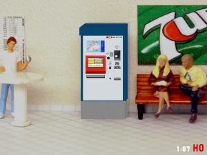 1:87 Spur H0 SBB Fahrkartenautomat