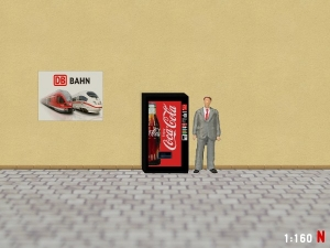 1/160 Track N Coca Cola vending machine