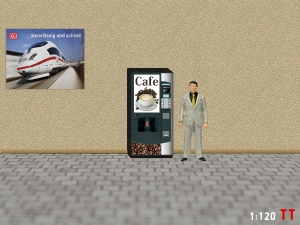1/120 Track TT  Coffee vending machine