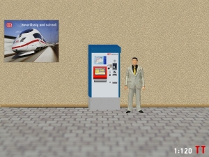 1:120 Spur TT SBB Fahrkartenautomaten