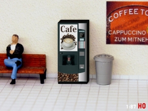 1:87 Spur H0 Kaffee Automat