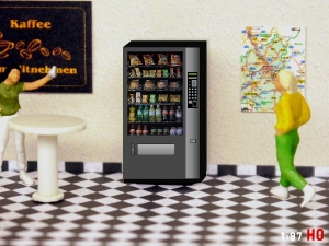 1/87 Track H0 Snack vending machine