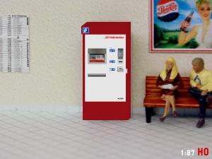 1:87 Spur H0 RhB Fahrkartenautomat