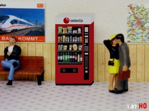 1:87 Spur H0 RhB SBB Selecta Snack Automat