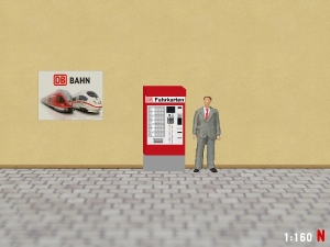 1/160 Track N DB Ticket machine