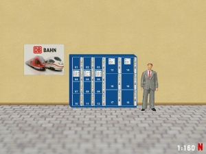 1/160 Track N Set of 3 vending machine