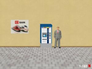 1:160 Spur N MVG Fahrkartenautomat