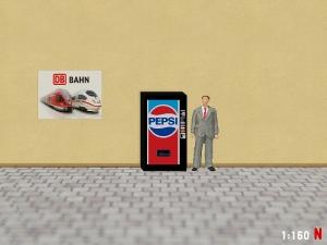 1:160 Spur N Pepsi Cola Getränkeautomat