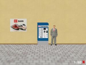 1:160 Spur N DB Fahrkartenautomat