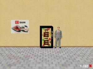 1:160 Spur N M&M Snack Automat