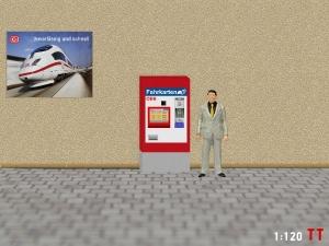1:120 Spur TT ÖBB Fahrkartenautomaten