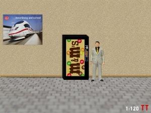 1:120 Spur TT M&M Snack Automat
