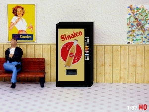 1/87 Track H0 Sinalco vending machine