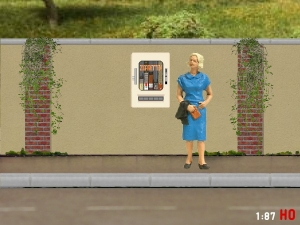 1:87 Spur H0 Zigarettenautomat DDR