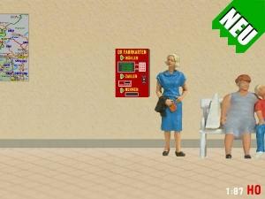 1/87 Track H0 DR Ticket vending machine GDR
