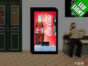 1:22,5 Spur G LED 9 - 24V Coca Cola Getränkeautomat beleuchtet