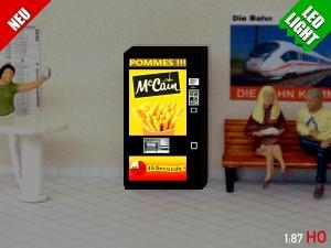1:87 Spur H0 LED 9 - 12V Mccain Pommes Automat beleuchet