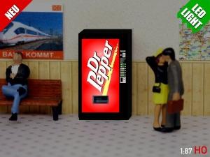 1:87 Spur H0 LED 9 - 12V Dr Pepper Automat beleuchet