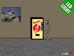 1:120 Spur TT LED 9 - 12V Sinalco Automat beleuchet