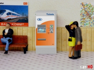 1:87 Spur H0 SNCB NMBS Fahrkartenautomat