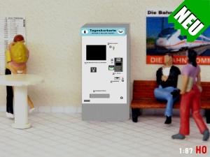 1:87 Spur H0 Tageskurkarten Automat