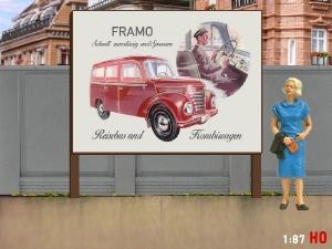 1/87 H0 Billboard Barkas Framo V 901/2