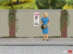 1/87 Track H0 PEZ bonbon vending machine