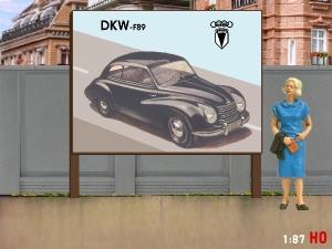 1:87 H0 Plakatwand DKW F 69
