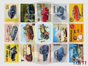 1:120 Spur TT Bausatz Werbeschilder