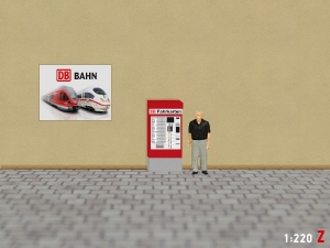 1:220 Spur Z DB Fahrkartenautomat