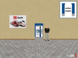 1:220 Spur Z DB MVG München Fahrkartenautomat