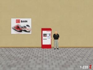 1:220 Spur Z RhB Fahrkartenautomat