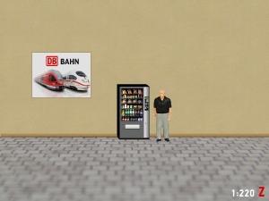 1:220 Spur Z Snack Automaten