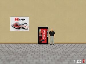 1:220 Spur Z Coca Cola Getränkeautomat