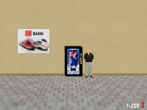 1:220 Spur Z Pepsi Cola Getränkeautomat