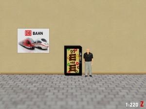 1:220 Spur Z M&M Snack Automat