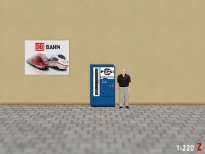 1:220 Spur Z Pepsi Cola Automat Epoche III
