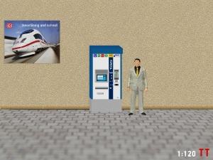 1:120 Spur TT MVG Fahrkartenautomaten