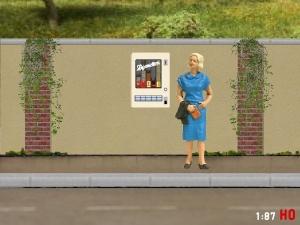 1:87 Spur H0 Zigarettenautomat