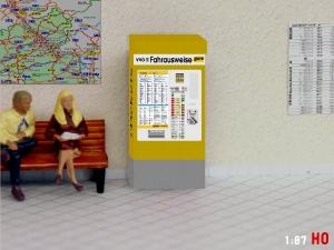 1:87 Spur H0 VVO DVB Fahrkartenautomat